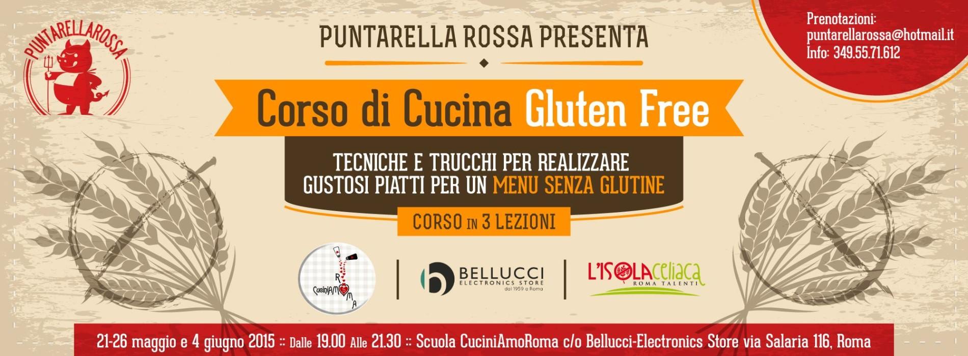 Disegno corsi di cucina a roma : Corso di cucina senza glutine Roma 2015 Puntarella