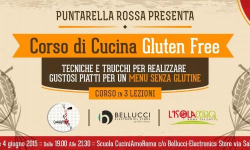 Corso di cucina senza glutine a Roma, via ai nuovi corsi di Puntarella Rossa