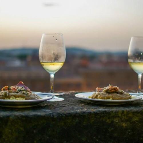 Bistrot Bio a Roma e la cena musicale di questa sera. Da Rimessa Roscioli vini del Bordeaux in degustazione