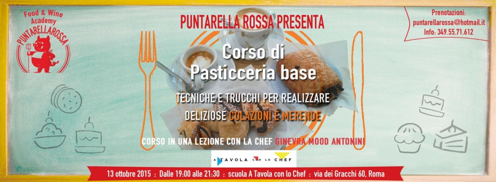 Corso Pasticceria Base Roma