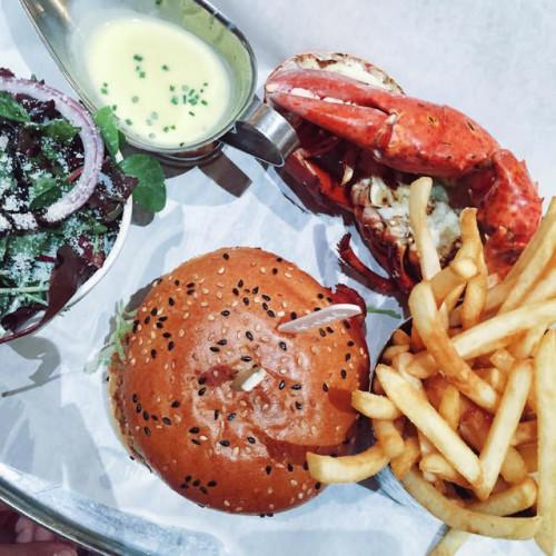 Ted a Roma, aragoste e patatine per il nuovo Burger & Lobster