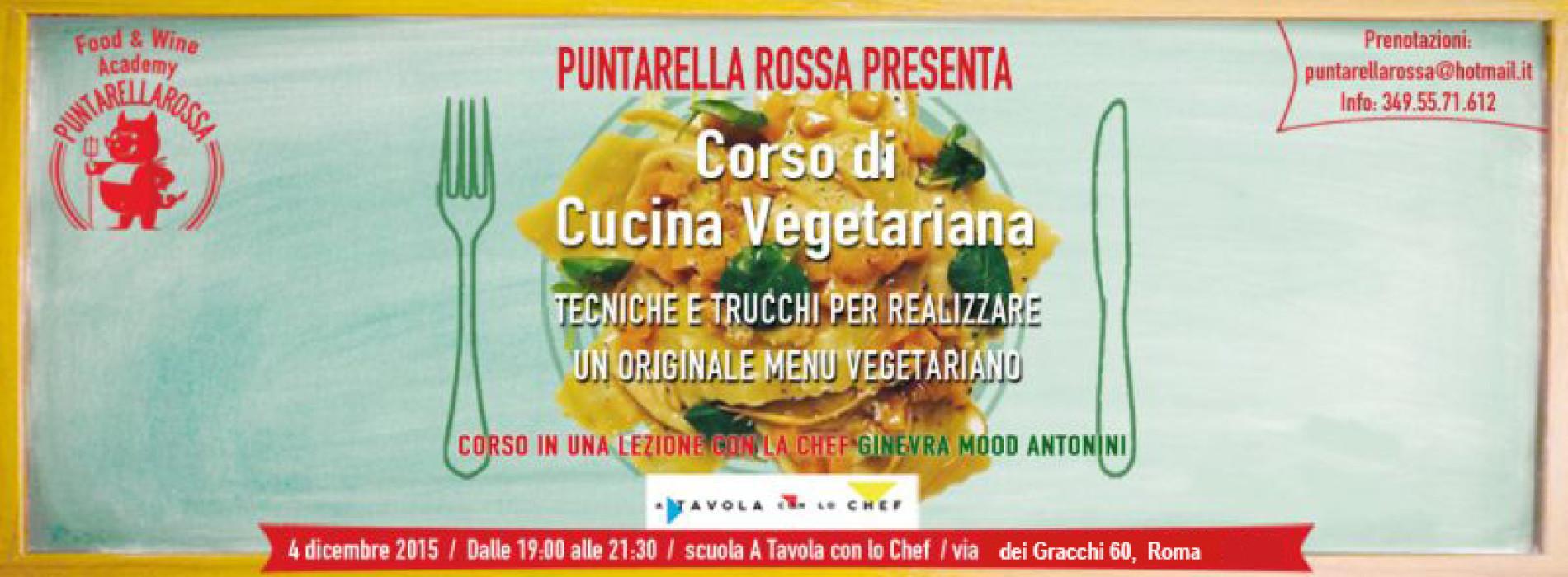 Corso Cucina Vegetariana Roma Dicembre 2015