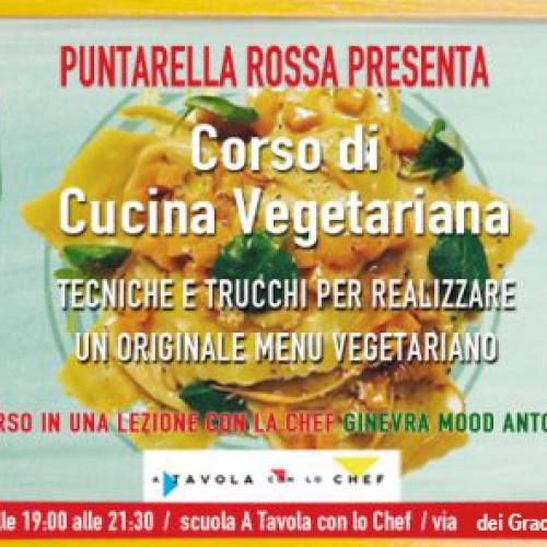 Corso di cucina vegetariana a Roma, il 4 dicembre con Puntarella Rossa