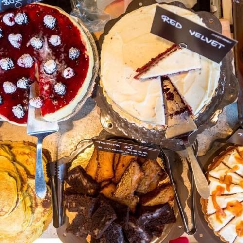 Brunch Roma novembre 2015, frittate e dolci da Pasticcio a Testaccio
