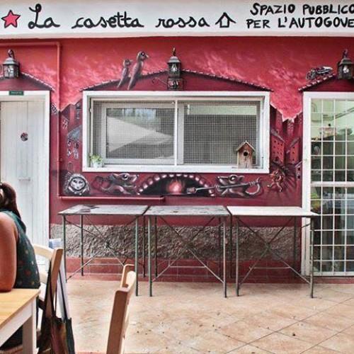 Casetta Rossa riapre, grande festa a Garbatella