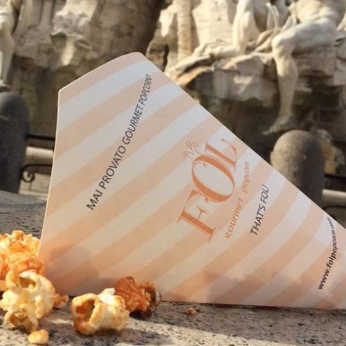 Fol Roma, popcorn gourmet in via Ripetta