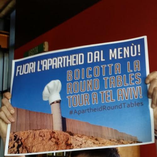 Stazione di Posta e Israele, blitz pro-Palestina contro lo chef Marco Martini