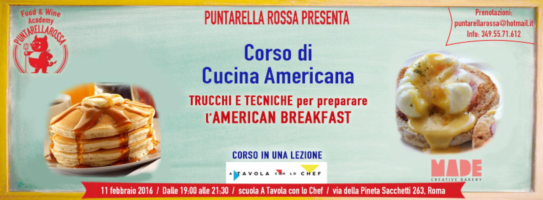 Corso di cucina americana a Roma 2016, l\'American breakfast di ...