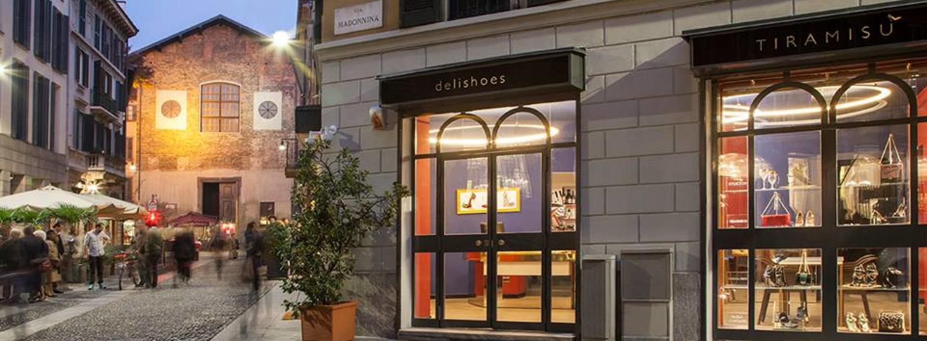 Tiramisù Delishoes Milano, dessert e tacchi a spillo nel cuore di Brera