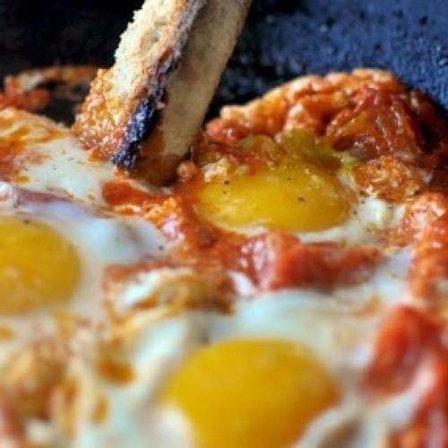 """""""Ova"""" al pomodoro ricetta toscana"""