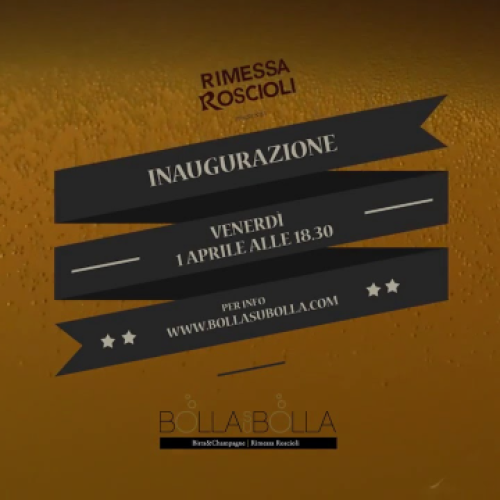 Bolla su Bolla Roma, Birra & champagne con Roscioli