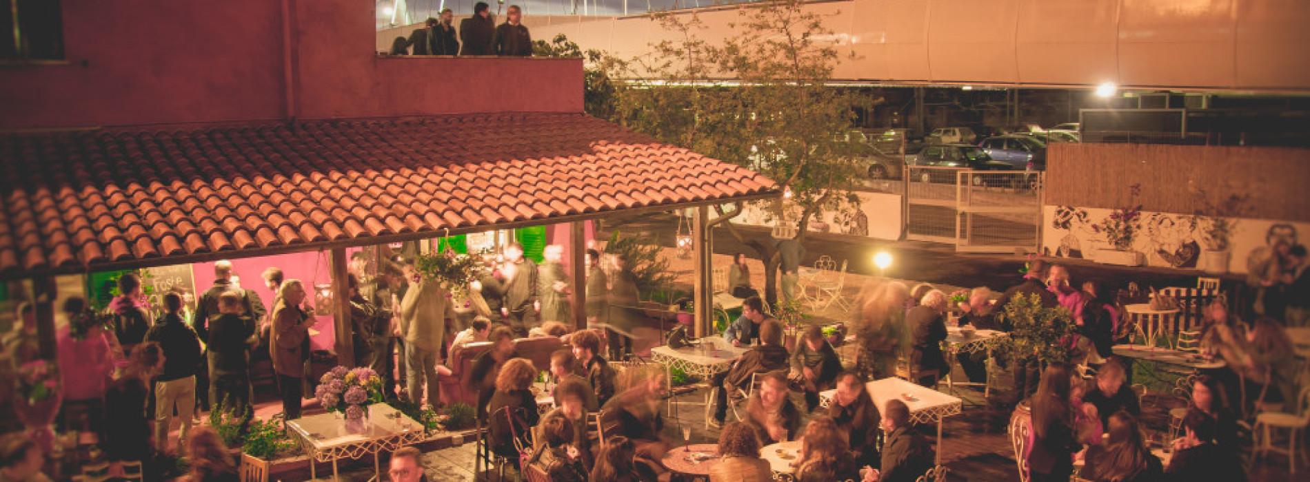 La Maisonnette Ristrot Roma, mangiare all'aperto a Garbatella