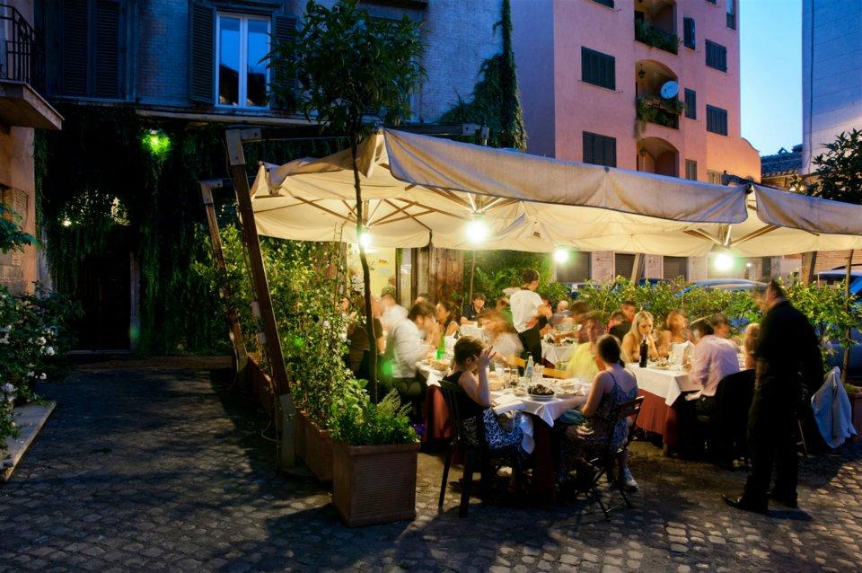 Dove Mangiare All Aperto A Trastevere Roma Cinque Ristoranti