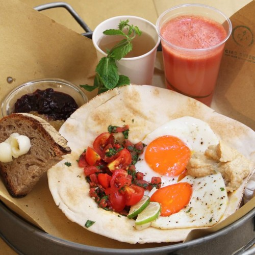 Brunch Roma maggio 2016: colazione internazionale da Ciao Checca, bagel da Haus Garten