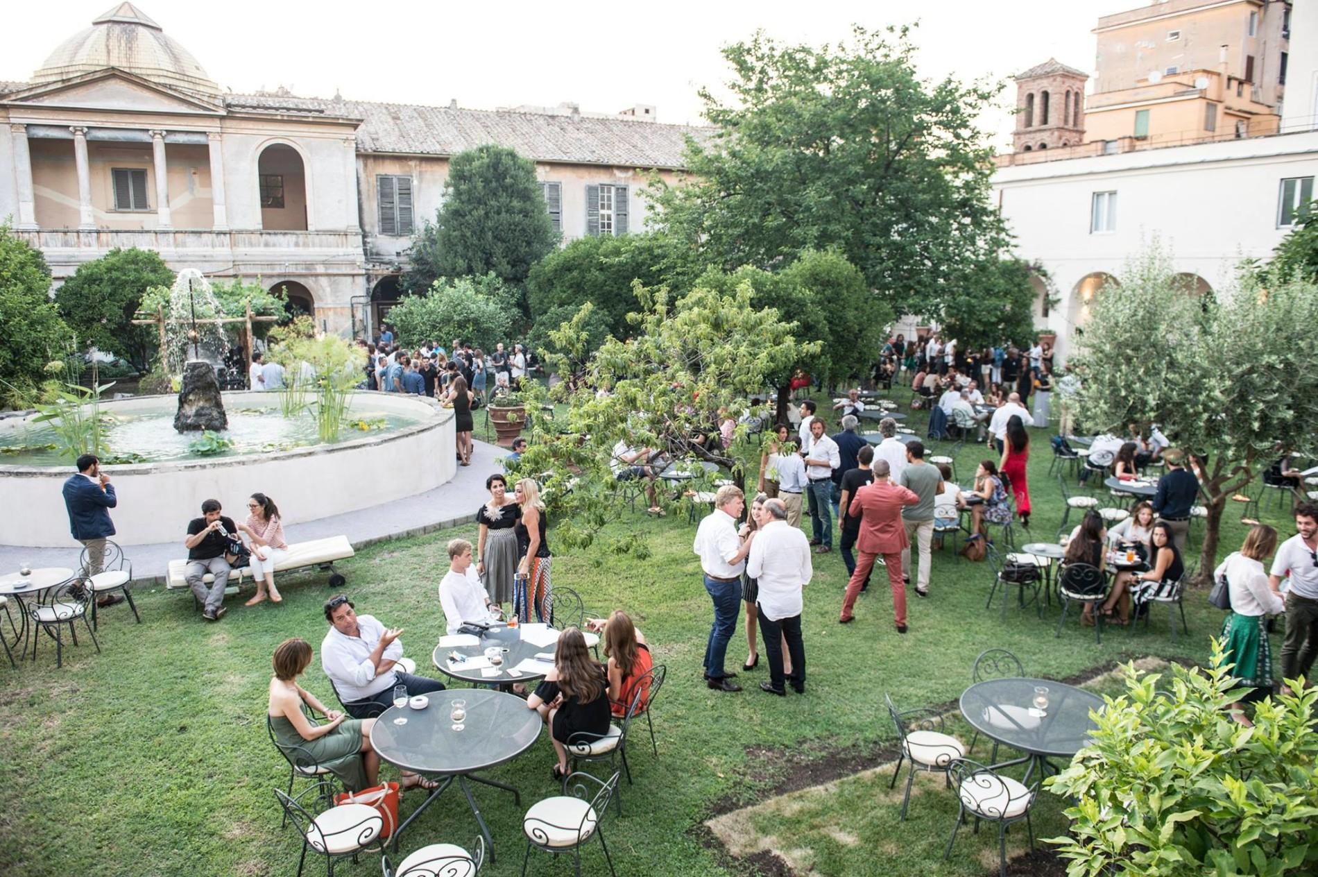 H eitch ripa il pi bell 39 aperitivo in giardino di roma puntarella rossa - Pizzeria con giardino roma ...
