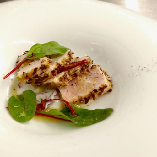 Pesce spada in crosta di semi ricetta originale