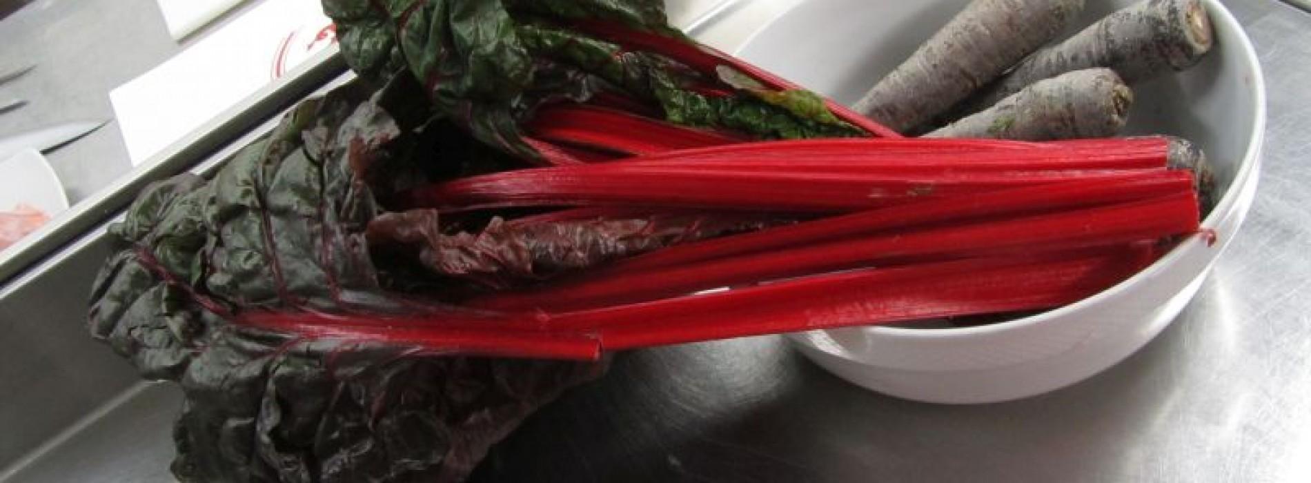 Coste di bietole rosse ricetta originale