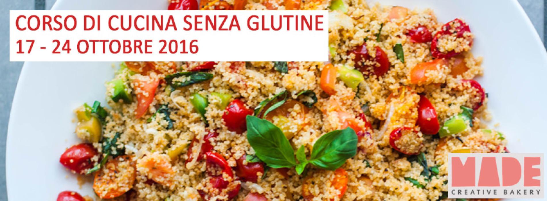 Corso di cucina senza glutine roma ottobre 2016 for Cucina 2016