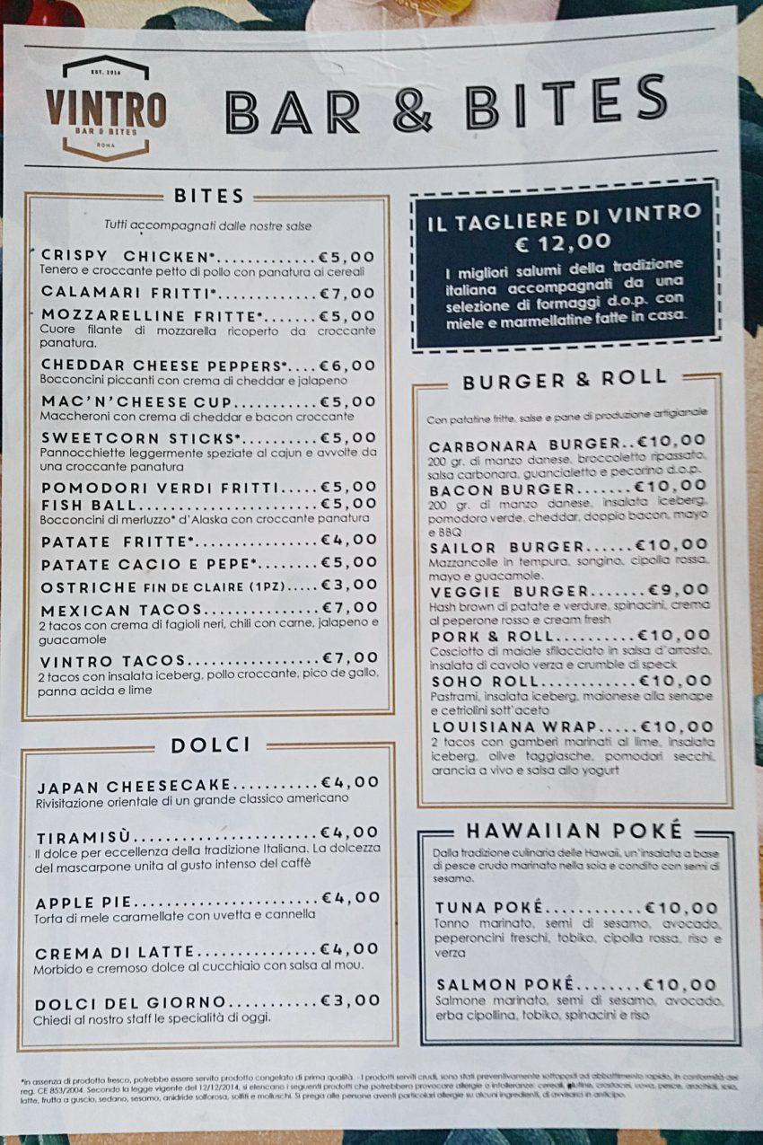 vintro bar&bites