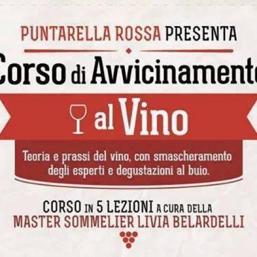 Corso di avvicinamento al vino a Roma gennaio 2019:cinque lezioni con cena finale