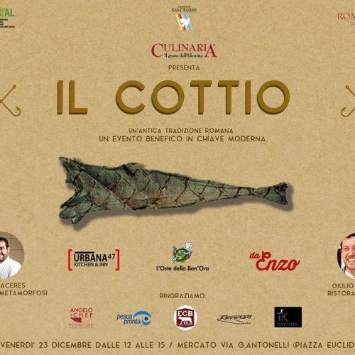 Cottìo Roma Mercato Pinciano, torna con Culinaria l'antica tradizione romana