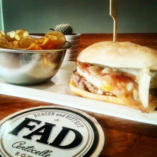 Fad burger and bistrot Roma, hamburger rivisitati in chiave romanesca a Centocelle