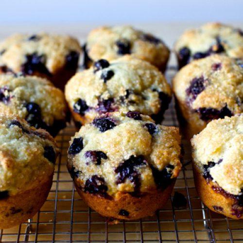 Blueberry muffin ricetta
