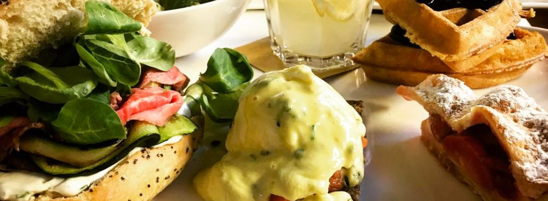 Brunch Roma aprile 2017: bagel sunday da Mavi, menu tipico romano da Hopside