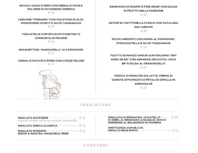 Ercoli 1928 Roma, menu e prezzi della gastronomia con cucina a Prati