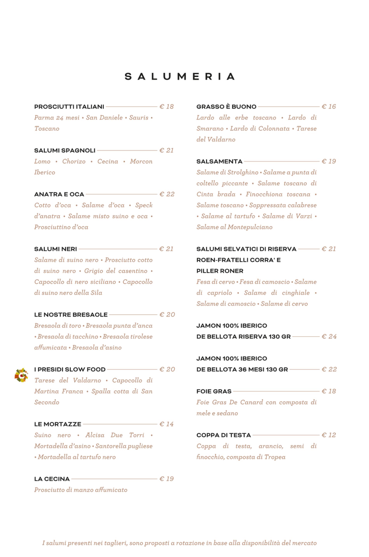 1928 Roma, menu e prezzi della gastronomia con cucina a Prati