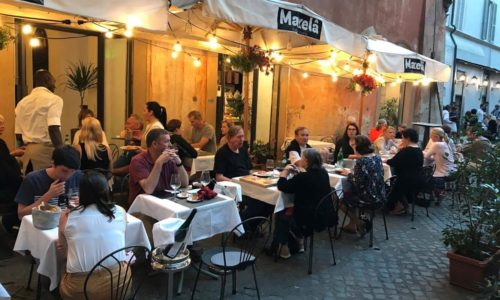 Eating outside in the centre of Rome: the best restaurants with outdoor areas