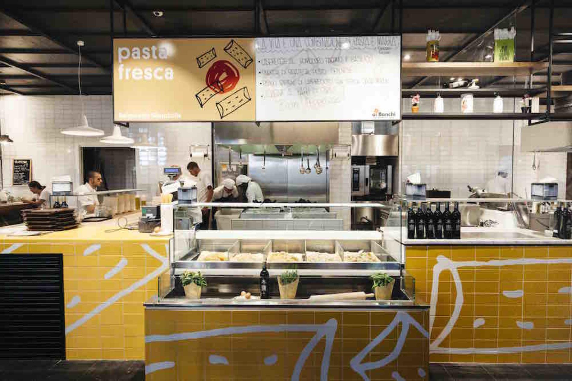 Ai Banchi del Mercato Centrale Firenze, le eccellenze del food al centro commerciale I Gigli
