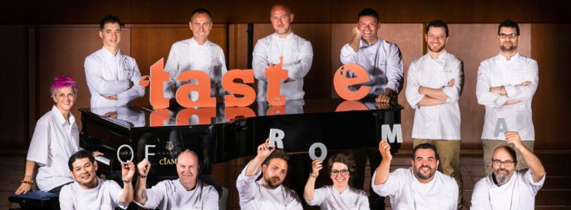 Taste of Roma 2017, torna il festival degli chef (in attesa di Courmayeur)