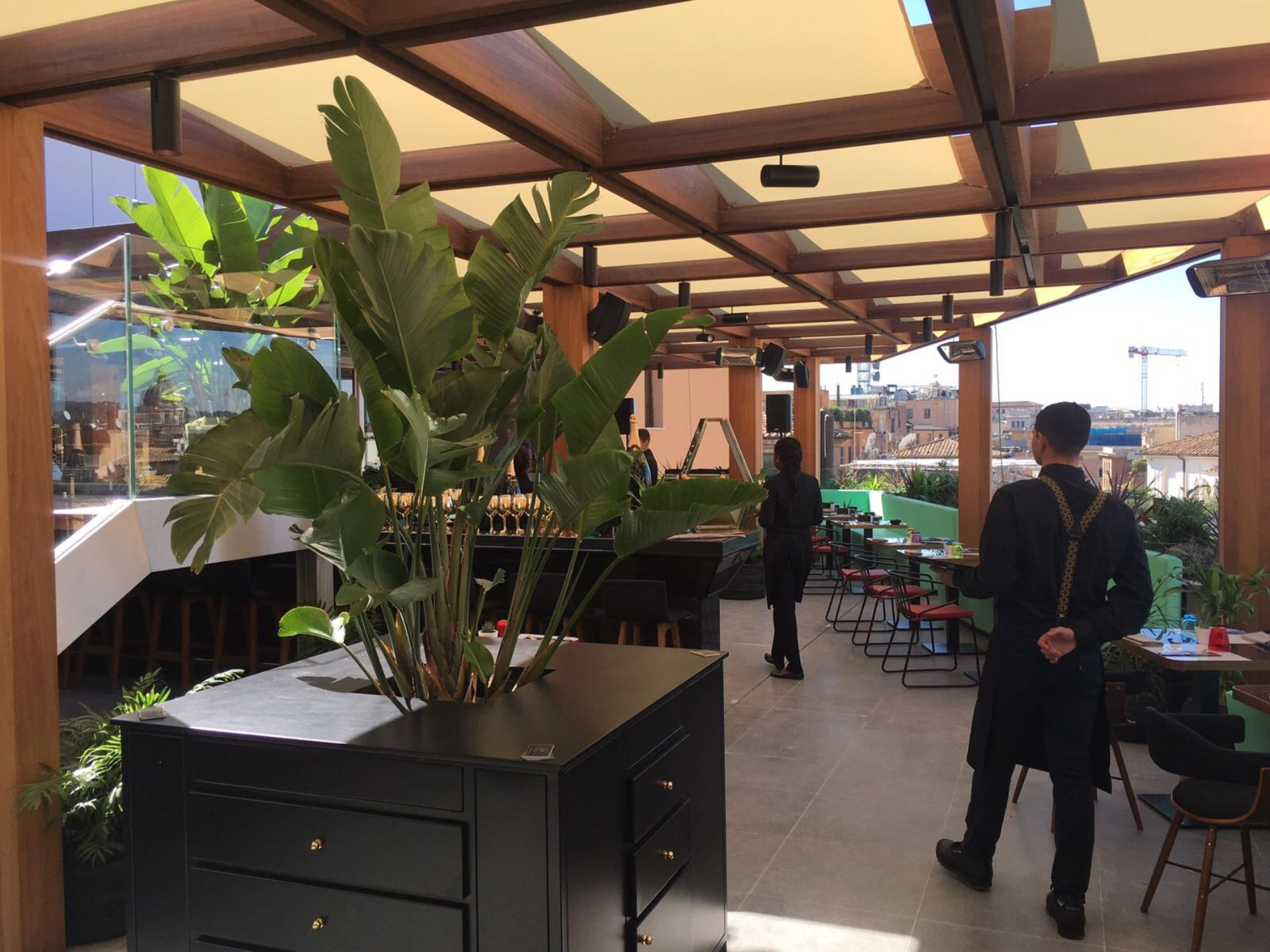 Rinascente Roma via del Tritone: ecco il nuovo ristorante, bar e terrazza panoramica dello chef Di Giacinto