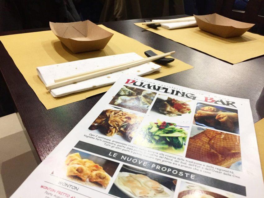 dumpling bar menu
