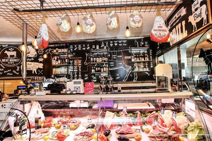 Dove mangiare carne a Roma Meat Market