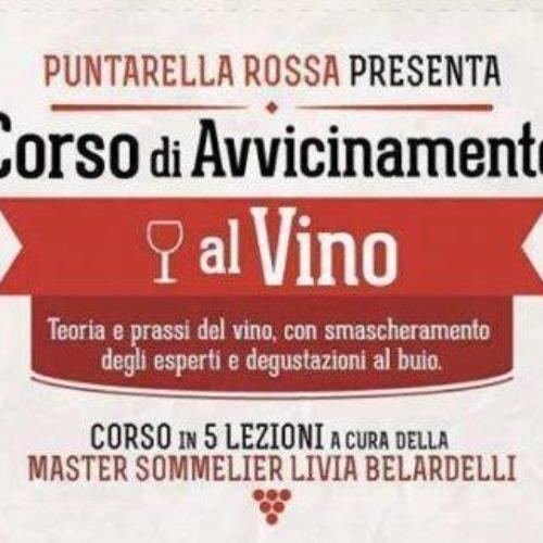 Corso di avvicinamento al vino a Roma febbraio 2018: cinque lezioni con Puntarella Rossa