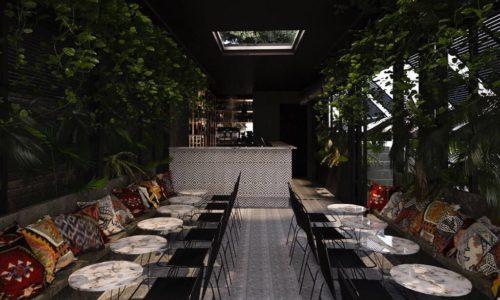 Palmerie Roma, ai Parioli il nuovo ristorante con giardino