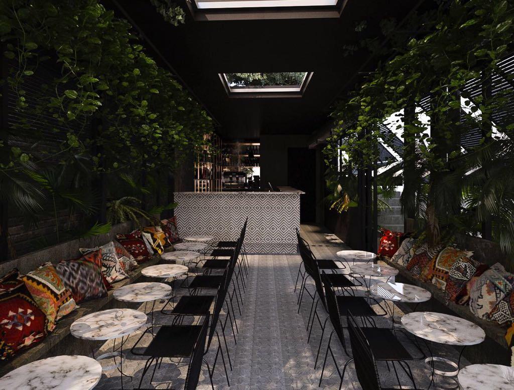 Le Palmerie Roma, ai Parioli il nuovo ristorante con giardino (e con Alessandro Borghi)