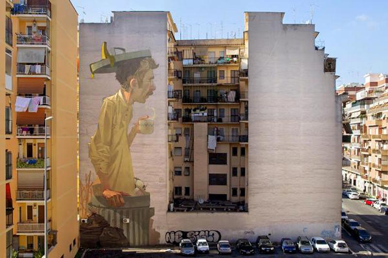 Torpignattara, murales