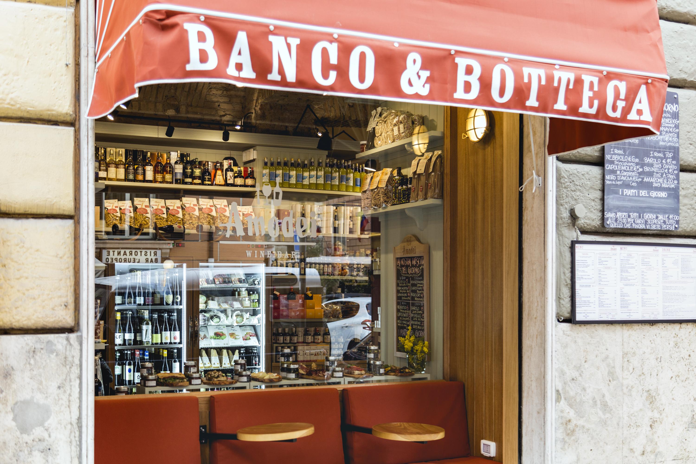Amodei a Roma, emporio gastronomico e bistrot vicino a Termini