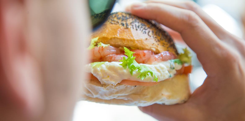 Panamar Napoli, tartare e panini gourmet di mare nel locale al Vomero