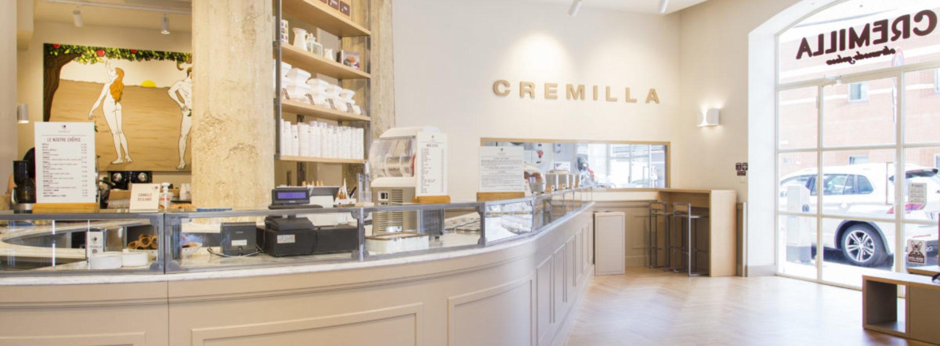 Gelateria Cremilla Roma apre a Prati dopo il Mercato centrale con laboratorio a vista, pasticceria e street art