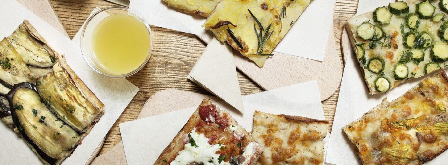 Marinella pizza su misura a Roma, dalla rossa alla carbonara il trancio è al centrimetro