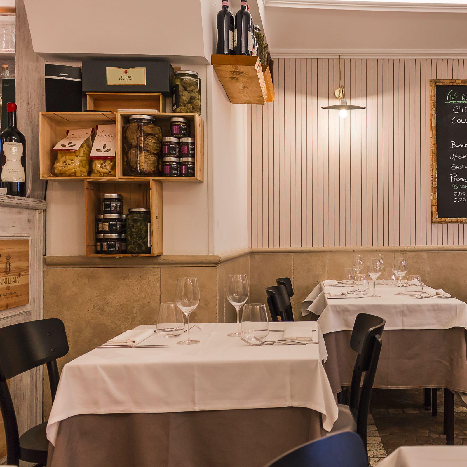 Evo hosteria roma olio vino e cucina a trastevere con for Design semplice del garage