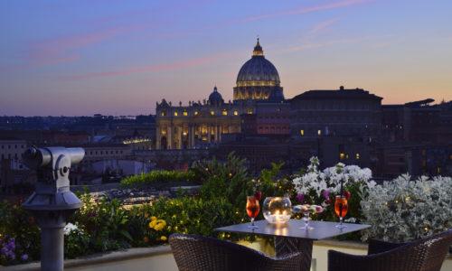 Terrazze e rooftop degli hotel a Roma: ecco i dieci ristoranti panoramici per aperitivi e cene