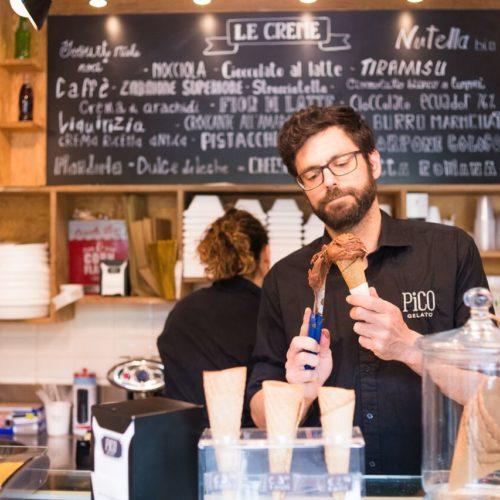Pico Gelato al Flaminio Roma, non solo coni ma mignon, torte e granite nel secondo punto vendita che aprirà a fine estate
