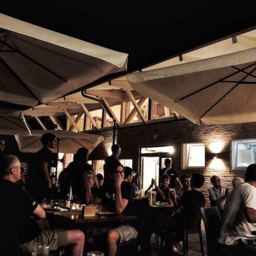 Agriturismo Granoantico Bologna, tagliatelle al ragù e tigelle nel ristorante con vista sui colli bolognesi