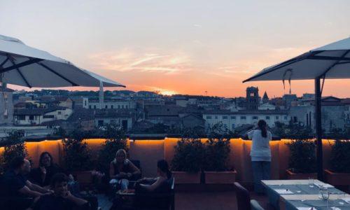 Ego Bistrot Roma, una terrazza a Trastevere per un menu con influenze orientali