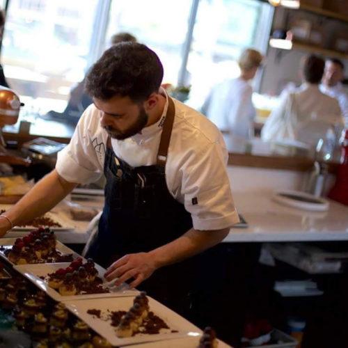 Marco Nuzzo al Giulia Restaurant di Roma, un pasticciere da tenere d'occhio e cinque meraviglie da non perdere